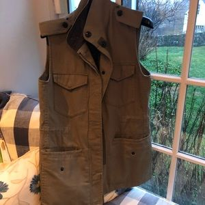 Rag and bone utility vest